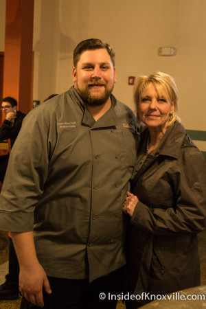 Executive Chef Warren Weiss and Melinda Grimac, Babalu, 412 S. Gay Street, Knoxville, November 2015