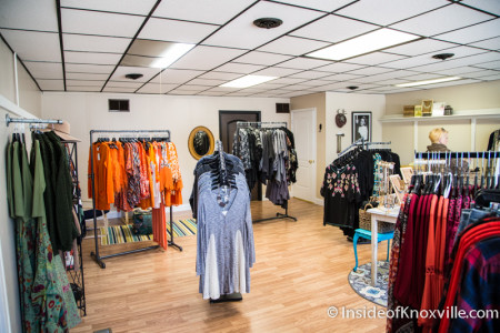 Folly Boutique, 1211 N. Central Street, Knoxville, November 2015
