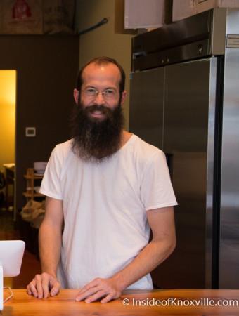 Jeff Scheafnocker, Three Bears Coffee Roastery, 1120 Sevier Ave., Knoxville, November 2015
