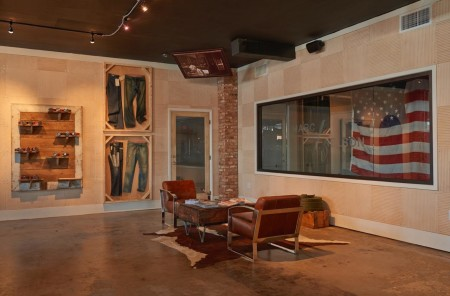 Marc Nelson Denim, Interior Design and Fabrication by Fork Design, Bruce Cole Photo
