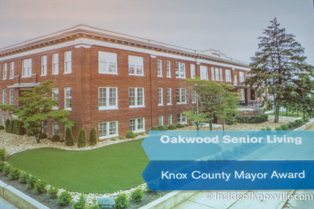 Oakwood Senior Living, Knox Heritage Fantastic Fifteen, Knoxville, November 2015