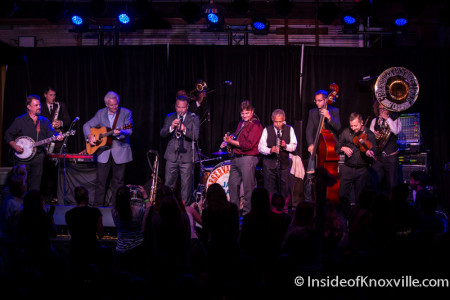 Preservation Hall Jazz Band with the Del McCoury Band, The Standard, Knoxville, October 2015