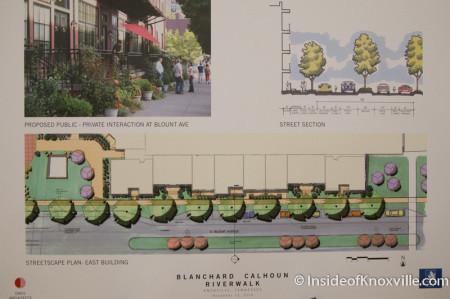 Blanchard Calhoun Plans for the Baptist Hosptial Site, Knoxville, November 2014