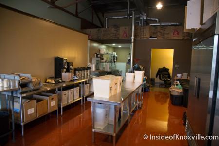 Three Bears Coffee Roastery, 1120 Sevier Ave., Knoxville, November 2015