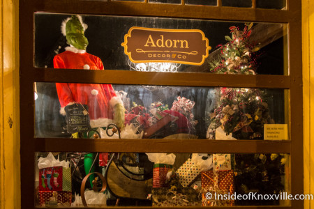 Adorn Decor and Company, 111 N. Central St., Knoxville, December 2015