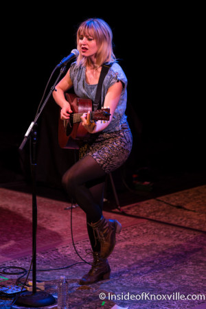 Anais Mitchell with the Punch Brothers, Bijou Theatre, Knoxville, December 2015