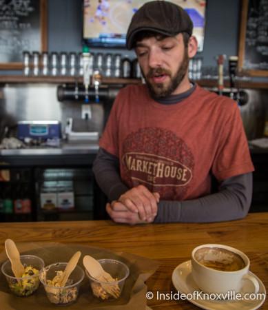 Chef Matt Boldreghini, Market House Cafe, 36 Market Square, Knoxville, December 2015