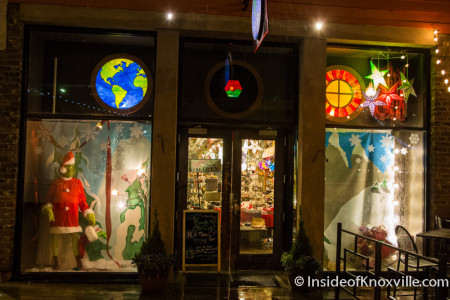Earth to Old City, 22 Market Square, Knoxville, December 2015