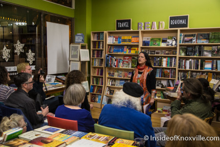French Poetry Reading, Union Avenue Books, Knoxville, December 2015