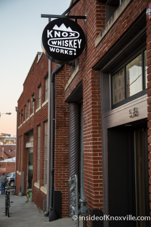 Knox Whiskey Works, 516 W. Jackson, Knoxville, November 2015