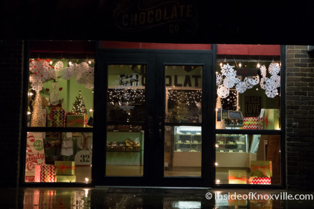Knoxville Chocolate Factory, 1060 World's Fair Park Dr., Knoxville, December 2015