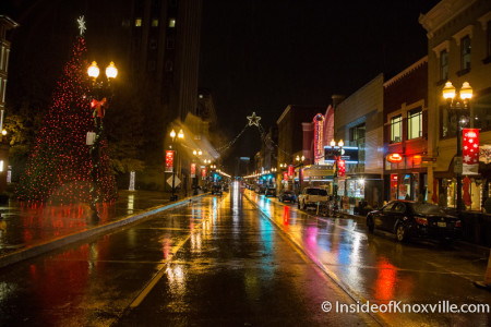 Knoxville in the Rain, December 2015