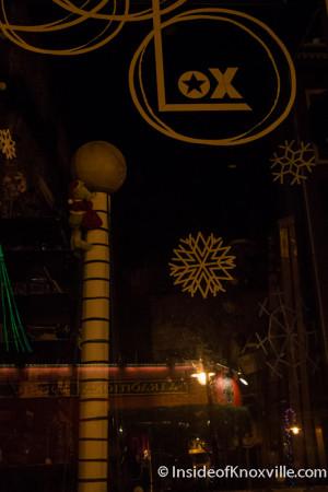 Lox Salon, 103 W. Jackson Ave., Knoxville, December 2015