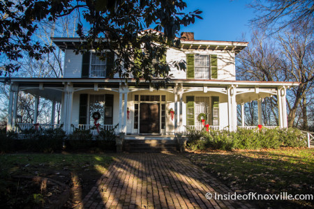 Mabry-Hazen House, 1711 Dandridge Avenue, Knoxville, December 2015
