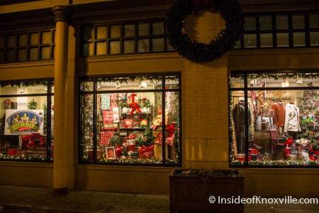 Mast General Store, 402 S. Gay St., Knoxville, December 2015