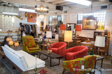 Mid Mod Collective, 1617 N. Central Street, Knoxville, December 2015
