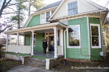 Old North Victorian Home Tour, 1025 Kenyon Street, Knoxville, December 2015