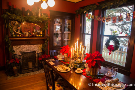 Old North Victorian Home Tour, 1523 Freemont Place, Knoxville, December 2015