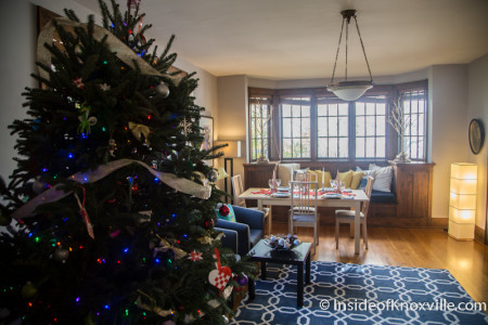 Old North Victorian Home Tour, 204 E. Oklahoma Avenue, Knoxville, December 2015