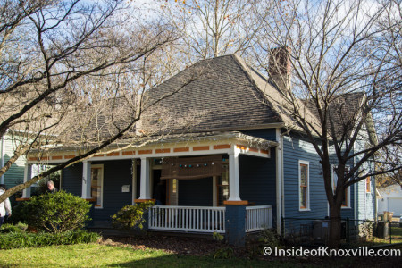 Old North Victorian Home Tour, 212 E. Oklahoma Avenue, Knoxville, December 2015
