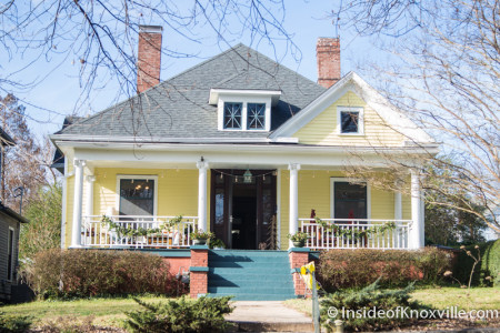 Old North Victorian Home Tour, 221 E. Oklahoma Ave., Knoxville, December 2015