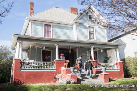 Old North Victorian Home Tour, 225 E. Oklahoma Ave., Knoxville, December 2015