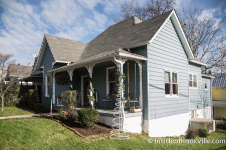 Old North Victorian Home Tour, 302 E. Scott Ave., Knoxville, December 2015