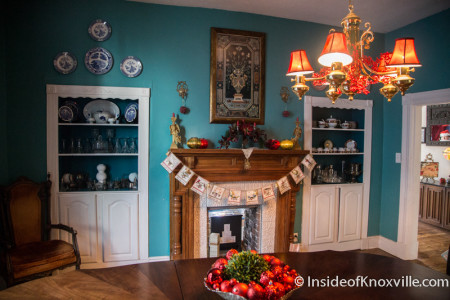 Old North Victorian Home Tour, 303 E. Oklahoma Ave., Knoxville, December 2015