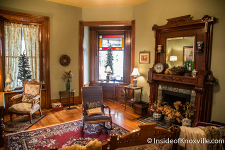 Old North Victorian Home Tour, 505 E. Scott Ave., Knoxville, December 2015