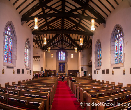Old North Victorian Home Tour, St. James Episcopal Church, 1101 N. Broadway, Knoxville, December 2015