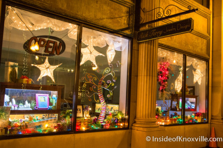 Rick Terry Jewelry Design, 618 S. Gay St., Knoxville, December 2015