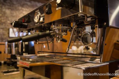 Awaken Coffee, 125 W. Jackson, Knoxville, January 2015