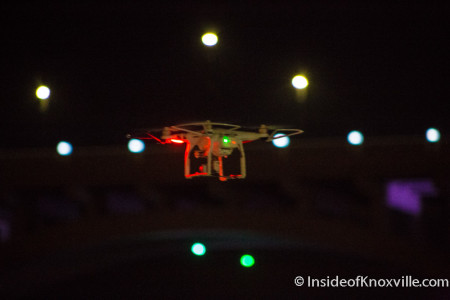 Drone Over Market Square, Knoxville, 2015