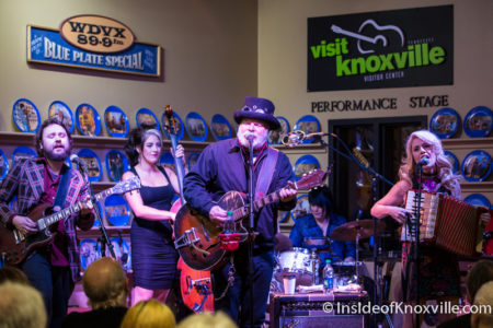 Fred Eaglesmith Traveling Steam Show, WDVX Blue Plate Special, Knoxville, January 2016