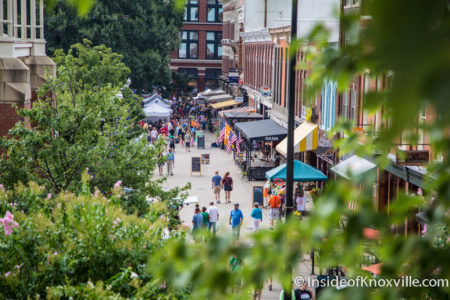 Market Square, Knoxville, July 2015