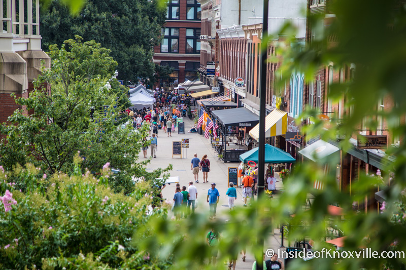 "America Discovers a Knoxville Jewel: Market Square Designated a ""Great Public Place"""
