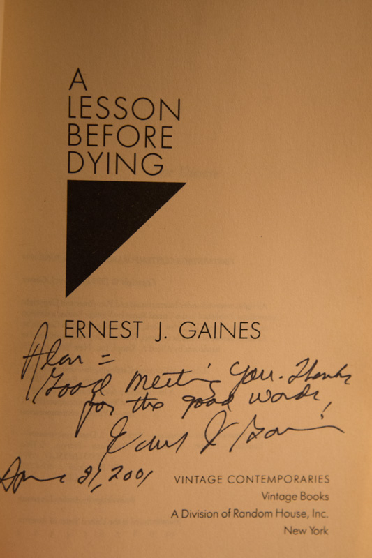 what makes a lesson before dying by ernest j gaines an extraordinarily unique book