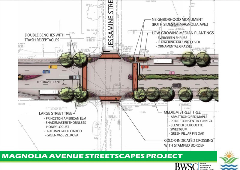 Magnolia Avenue Corridor Project Unveiled