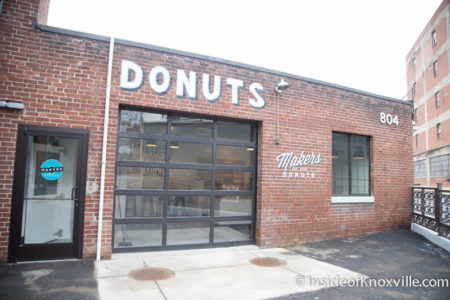 Makers Donuts, 804 Tyson St., Knoxville, January 2016