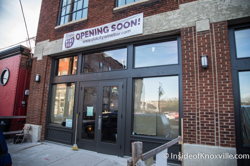 Old City Wine Bar Opens Next Week