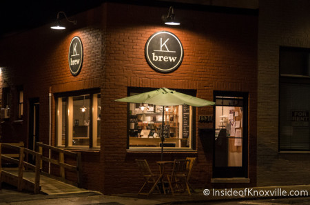 Original K Brew Location, 1328 N. Broadway, Knoxville, January 2016