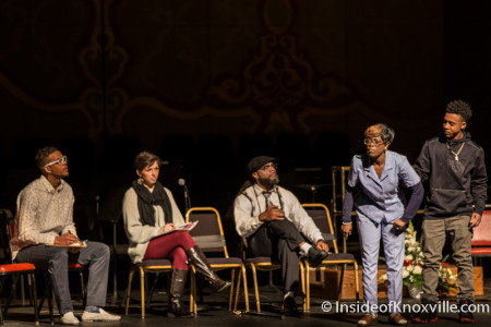 Sche Productions, A Night with the Arts in Celebration of Dr. Martin Luther King, Jr, Tennessee Theatre, Knoxville, January 2016