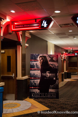 The Fifth Wave Premier, Regal Cinema Downtown, Knoxville, January 2016