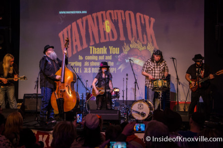 Emi Sunshine, Waynestock, Relix Variety, Knoxville, January 2016