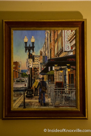Framing by Paula West at Earth to Old City, 22 Market Square, Knoxville