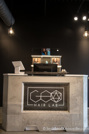 GEO Hair Lab, 300 W. Fifth Ave., Knoxville, February 2016
