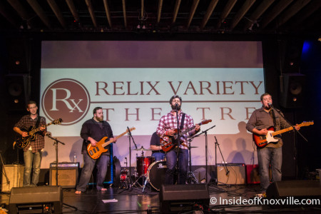 Handsome and the Humbles, Waynestock, Relix Variety, Knoxville, January 2016