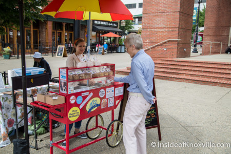 Cookie Cart on Market Square, Summer 2015