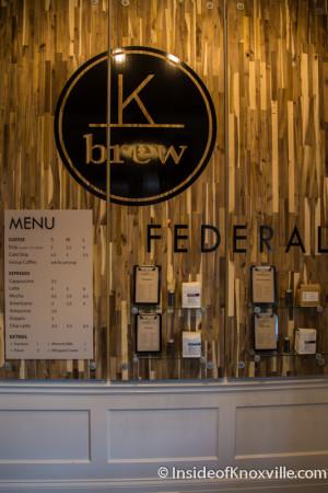 K Brew, 800 Market Street, Knoxville, February 2016