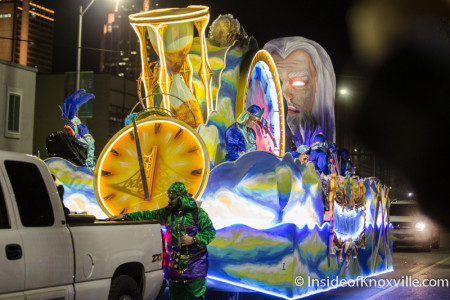 Mystics of Time Parade, Mardi Gras, Mobile Alabama, February 6, 2016